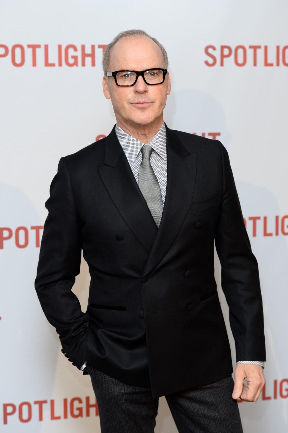 Michael Keaton Spotlight - UK Premiere