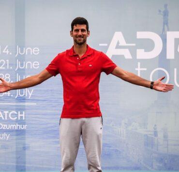 Novak Djokovic Adria Tour Tennis