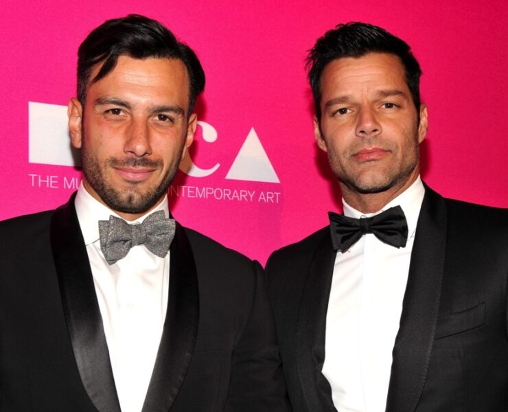 Ricky Martin and Jwan Yosef at the MOCA Gala 2017 Honoring Jeff Koons