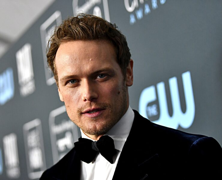 Sam Heughan attends the 25th Annual Critics' Choice Awards - Arrivals