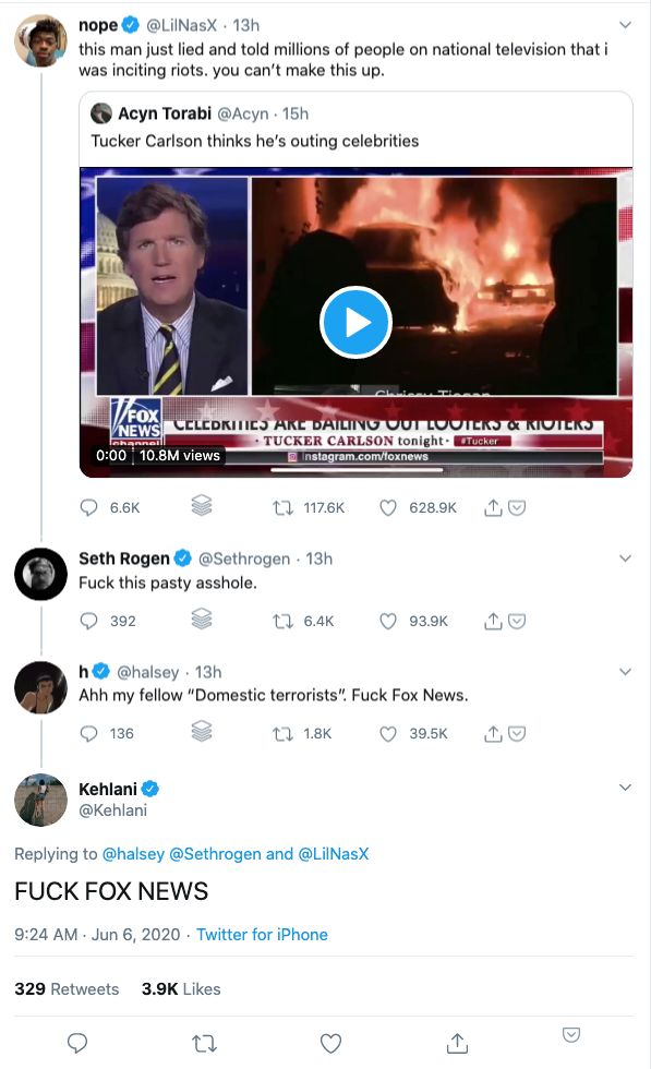 Seth Rogen Tweet Response