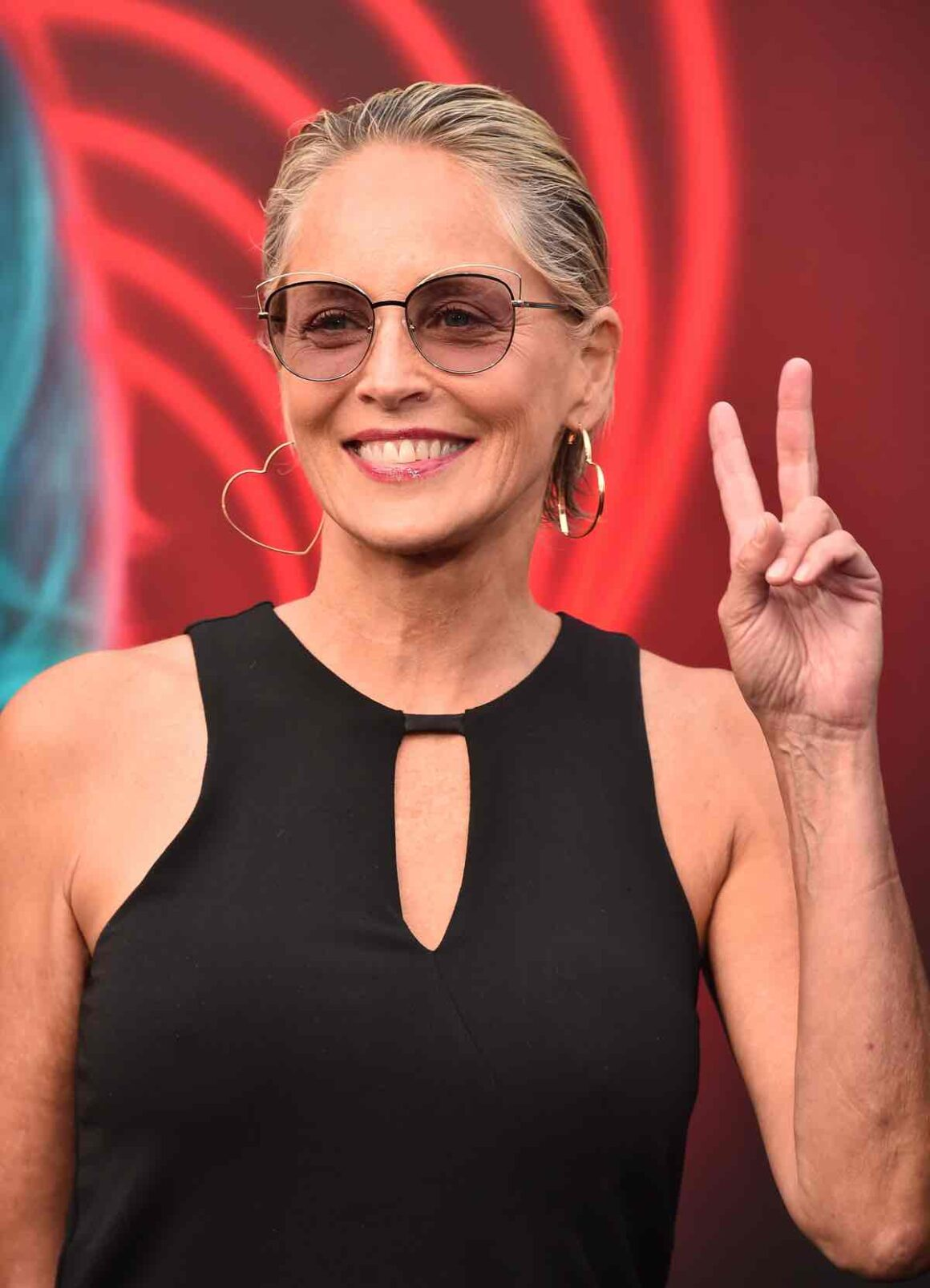 """Sharon Stone at Premiere Of Lionsgate's """"The Spy Who Dumped Me"""" - Arrivals"""