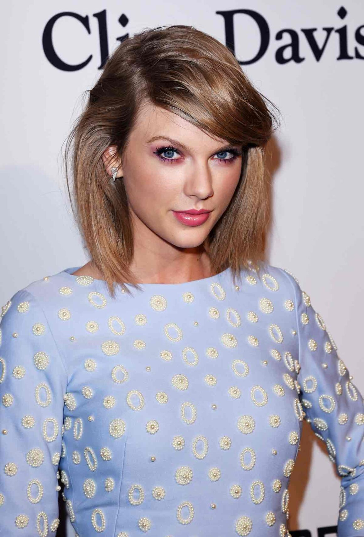 Taylor Swift attends theThe 57th Annual GRAMMY Awards - Pre-GRAMMY Gala And Salute To Industry Icons Honoring Martin Bandier - Arrivals