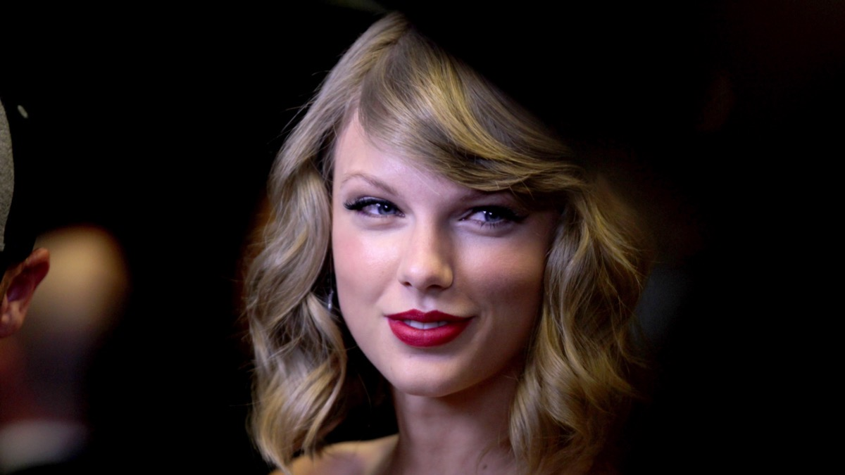 Taylor Swift attends the2014 iHeartRadio Music Festival - Night 1 - Backstage