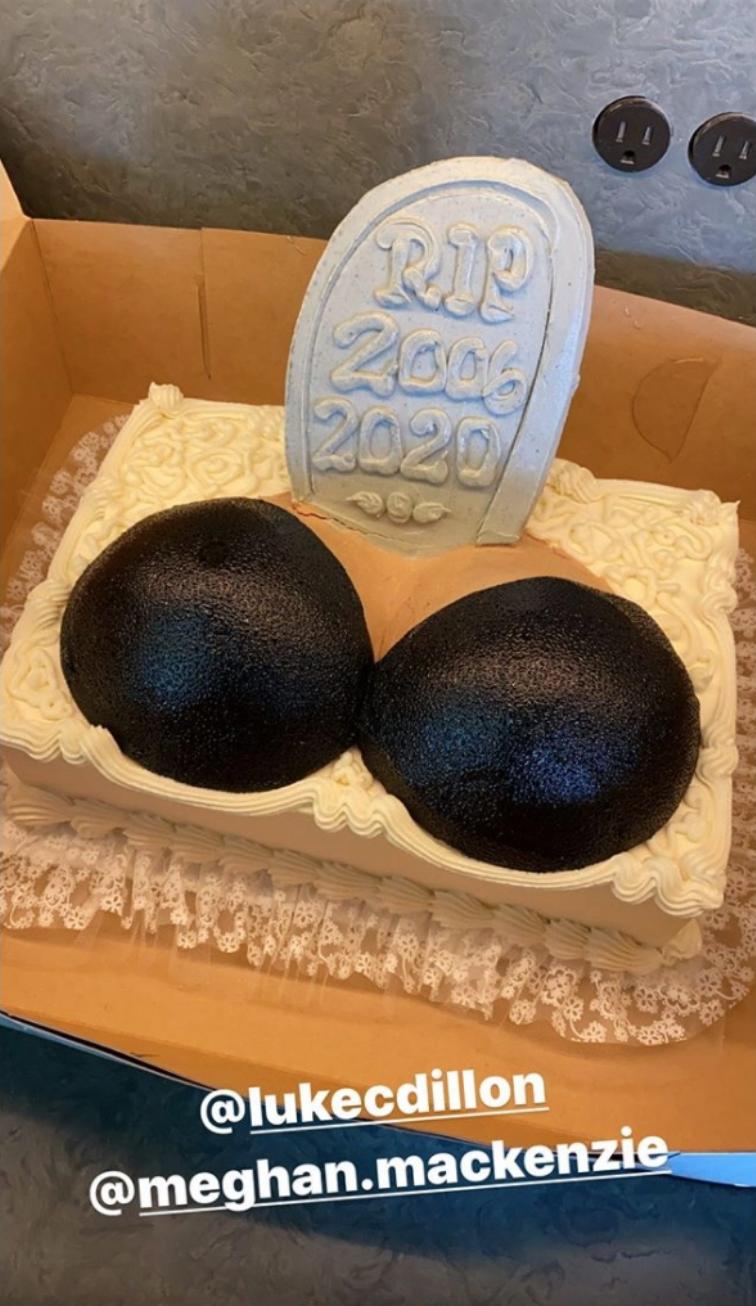 Chrissy Teigen boob cake