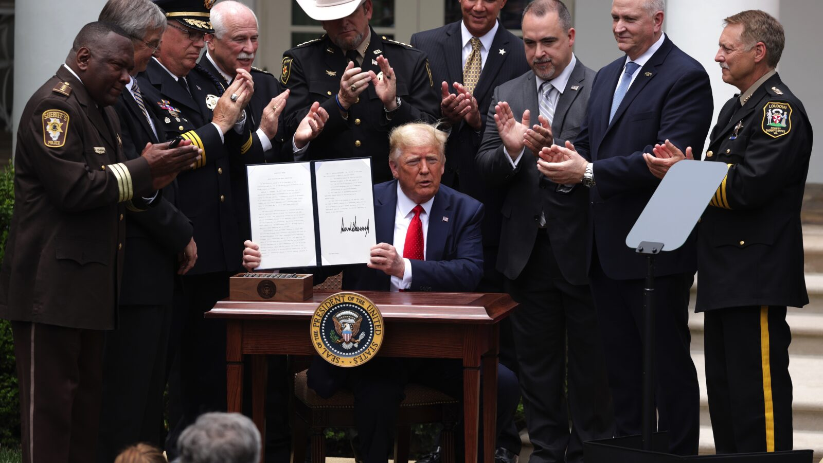 """President Trump Signs Executive Order On """"Safe Policing For Safe Communities"""""""