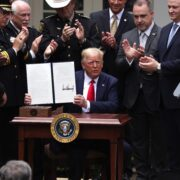 "President Trump Signs Executive Order On ""Safe Policing For Safe Communities"""