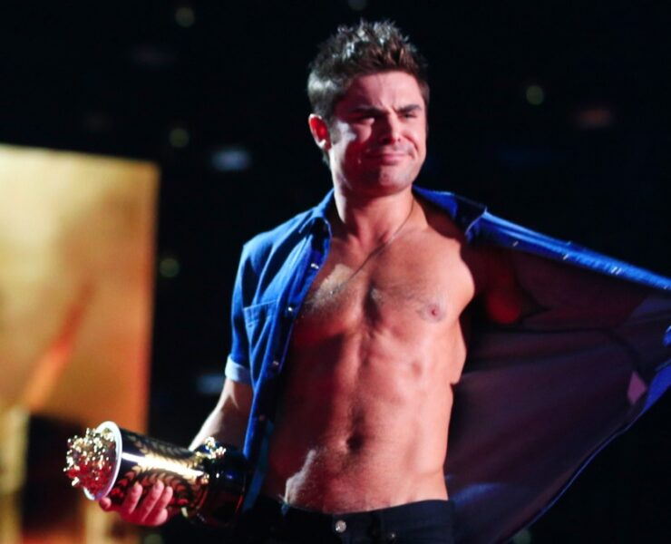 Zac Efron at the 2014 MTV Movie Awards - Show
