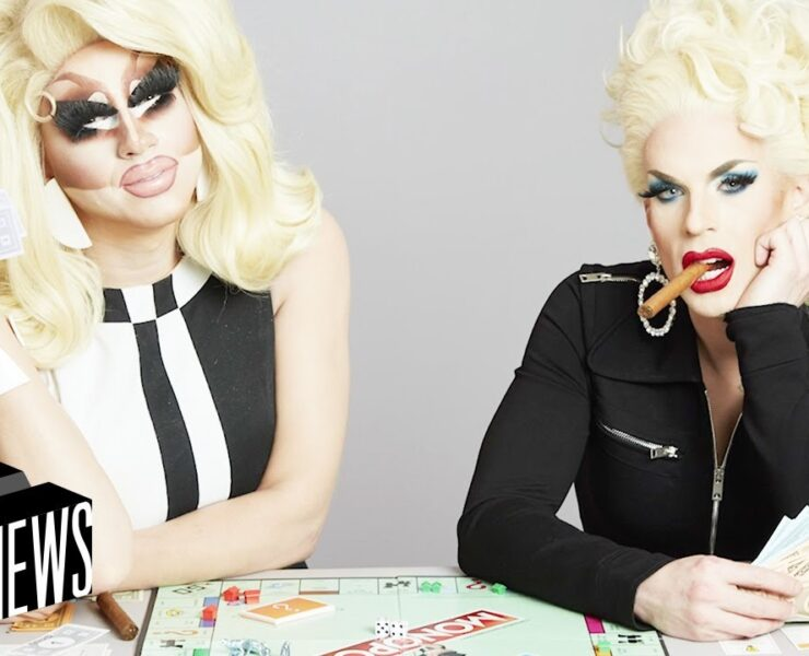 Trixie Mattel and Katya