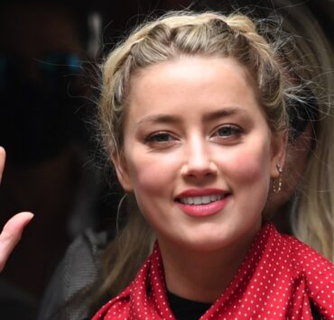 Amber Heard arrives on the seventh day of the libel trial