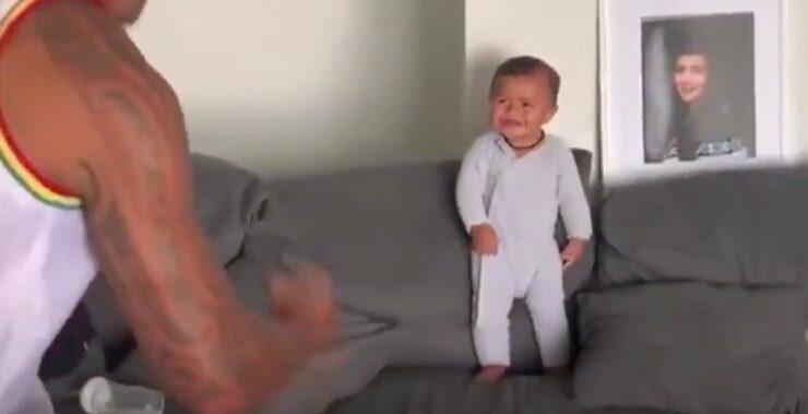 Baby Haka Dance