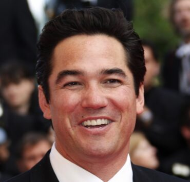 US actor Dean Cain smiles as he arrives