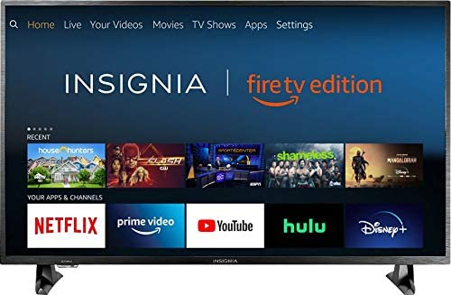 Insignia 32-inch Smart HD TV - Fire TV