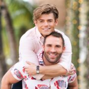 Garrett Clayton and Blake Knight