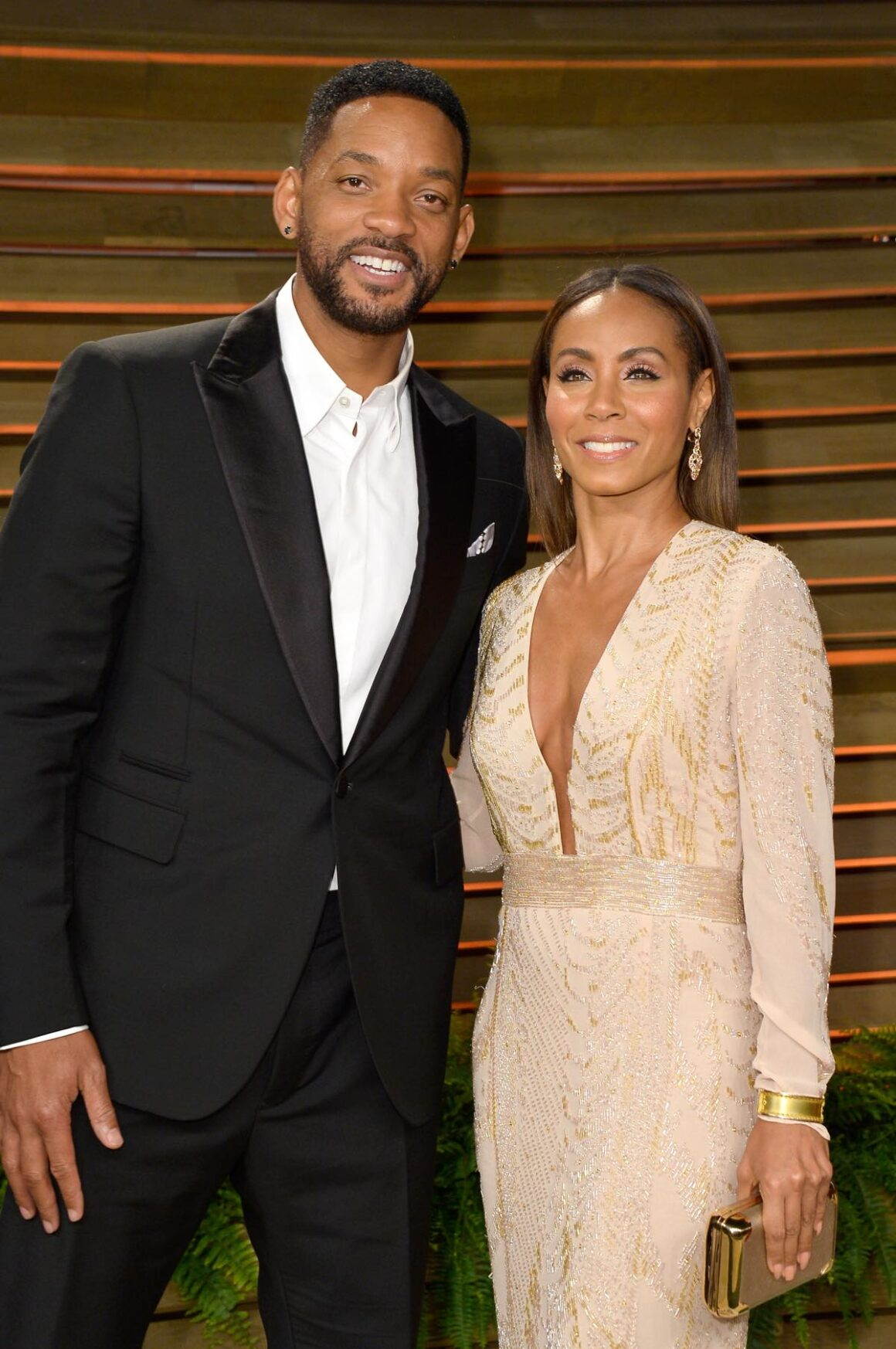 Will Smith and Jada Pinkett-Smith 2014 Vanity Fair Oscar Party Hosted By Graydon Carter - Arrivals