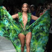 Jennifer Lopez Versace - Runway - Milan Fashion Week Spring/Summer 2020