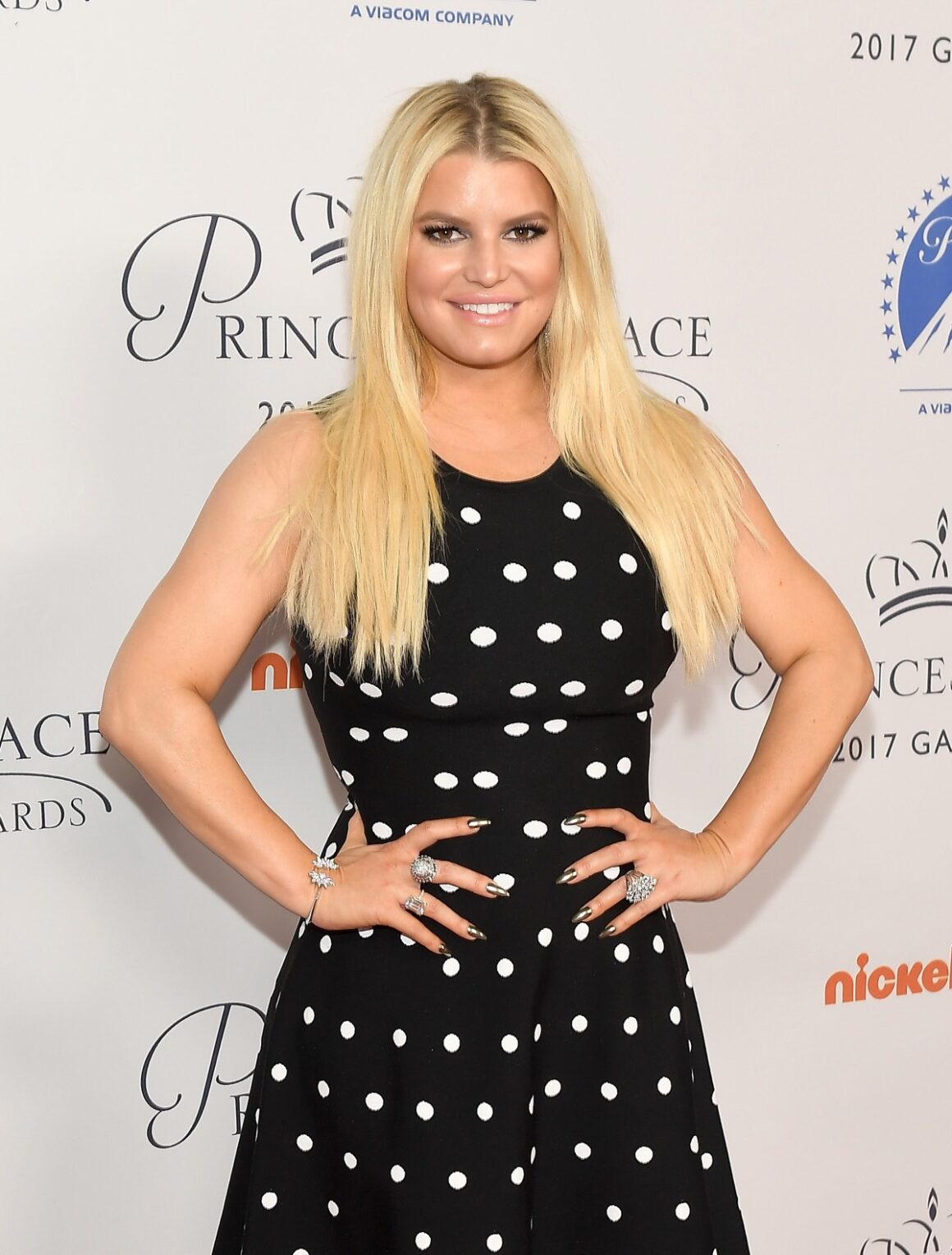 Jessica Simpson 2017 Princess Grace Awards - Special Tribute Event Honoring Stephen Hillenberg