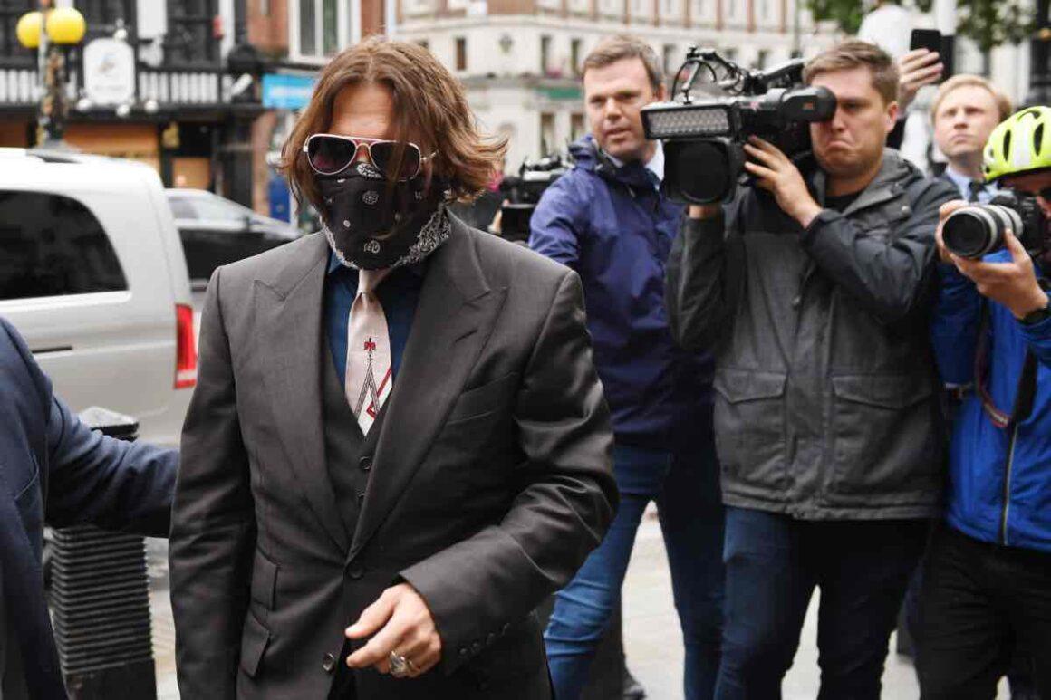 Johnny Depp In Libel Case Against The Sun Newspaper