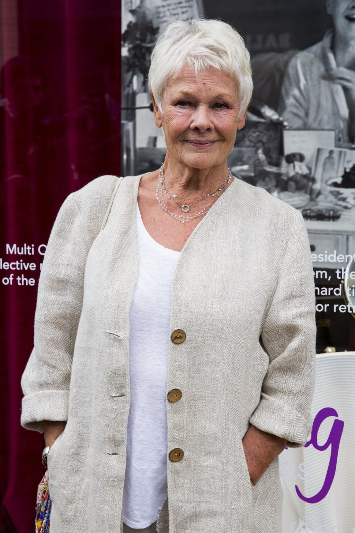 Dame Judi Dench Shop With The Stars At Fenwick