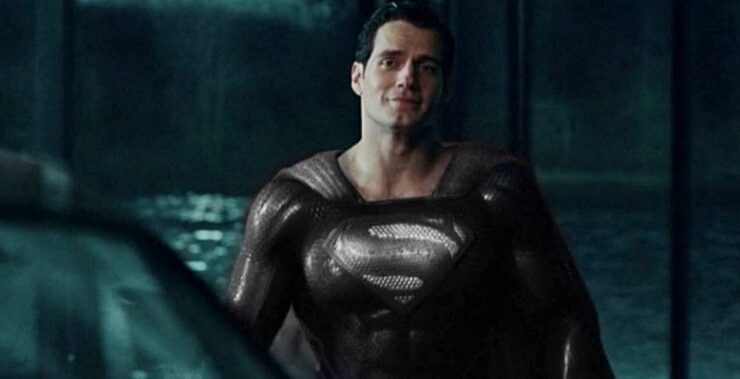 Zack Snyder Unveils Henry Cavill Wearing Black Superman Suit