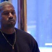 Singer Kanye West arrives at Trump Tower