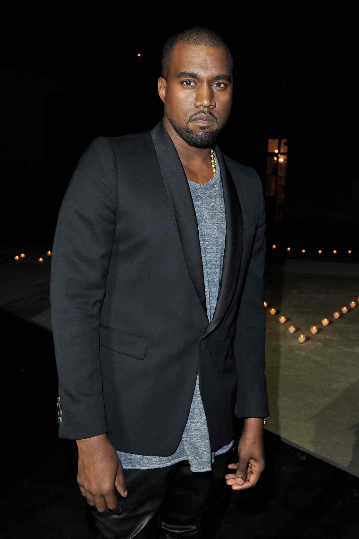 Kanye West MAC & Carine Roitfeld - LE BAL - Paris Fashion Week Womenswear Spring / Summer 2013