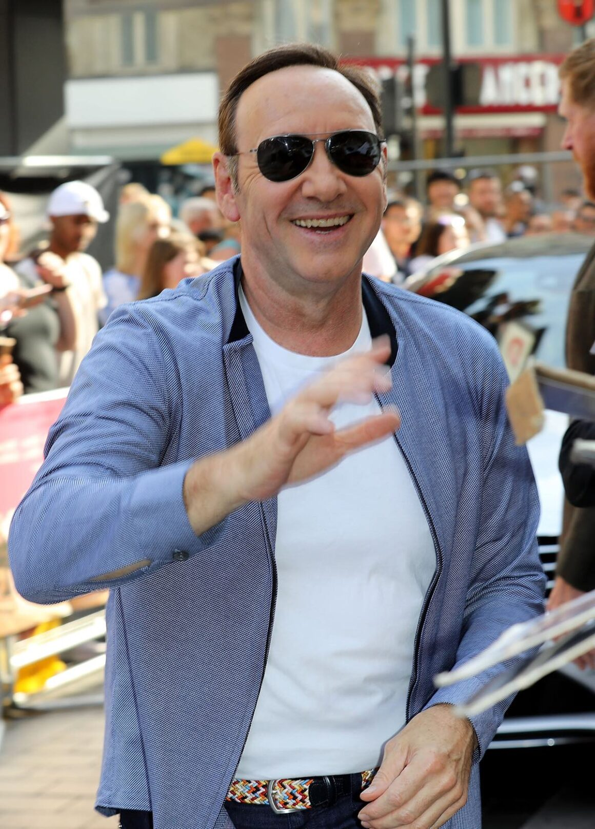 "Kevin Spacey European Premiere of Sony Pictures ""Baby Driver"""