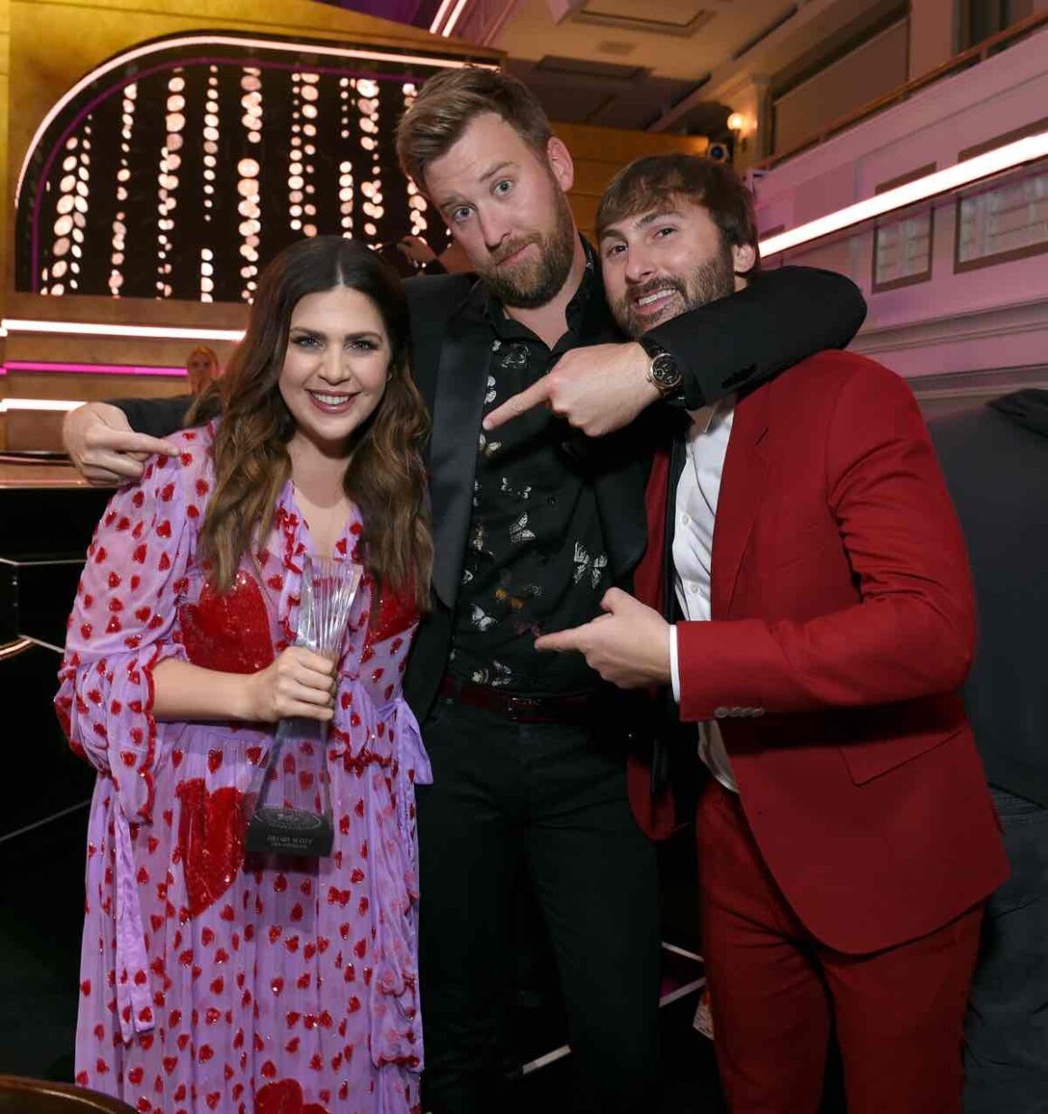 Lady Antebellum 2018 CMT Artists Of The Year - Inside