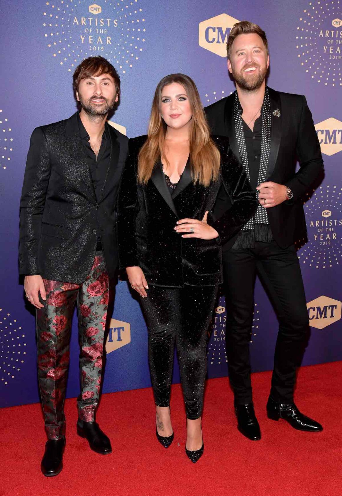 Lady Antebellum 2019 CMT Artist of the Year - Red Carpet