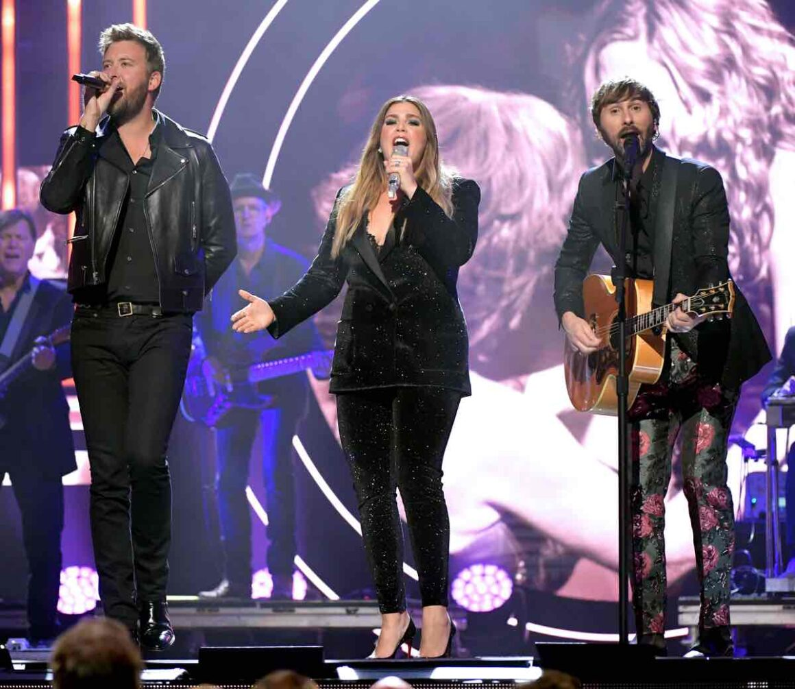 Lady Antebellum 2019 CMT Artist of the Year - Inside