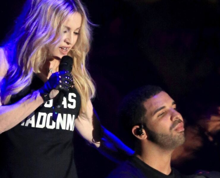 Madonna and Drake 2015 Coachella Valley Music And Arts Festival - Weekend 1 - Day 3