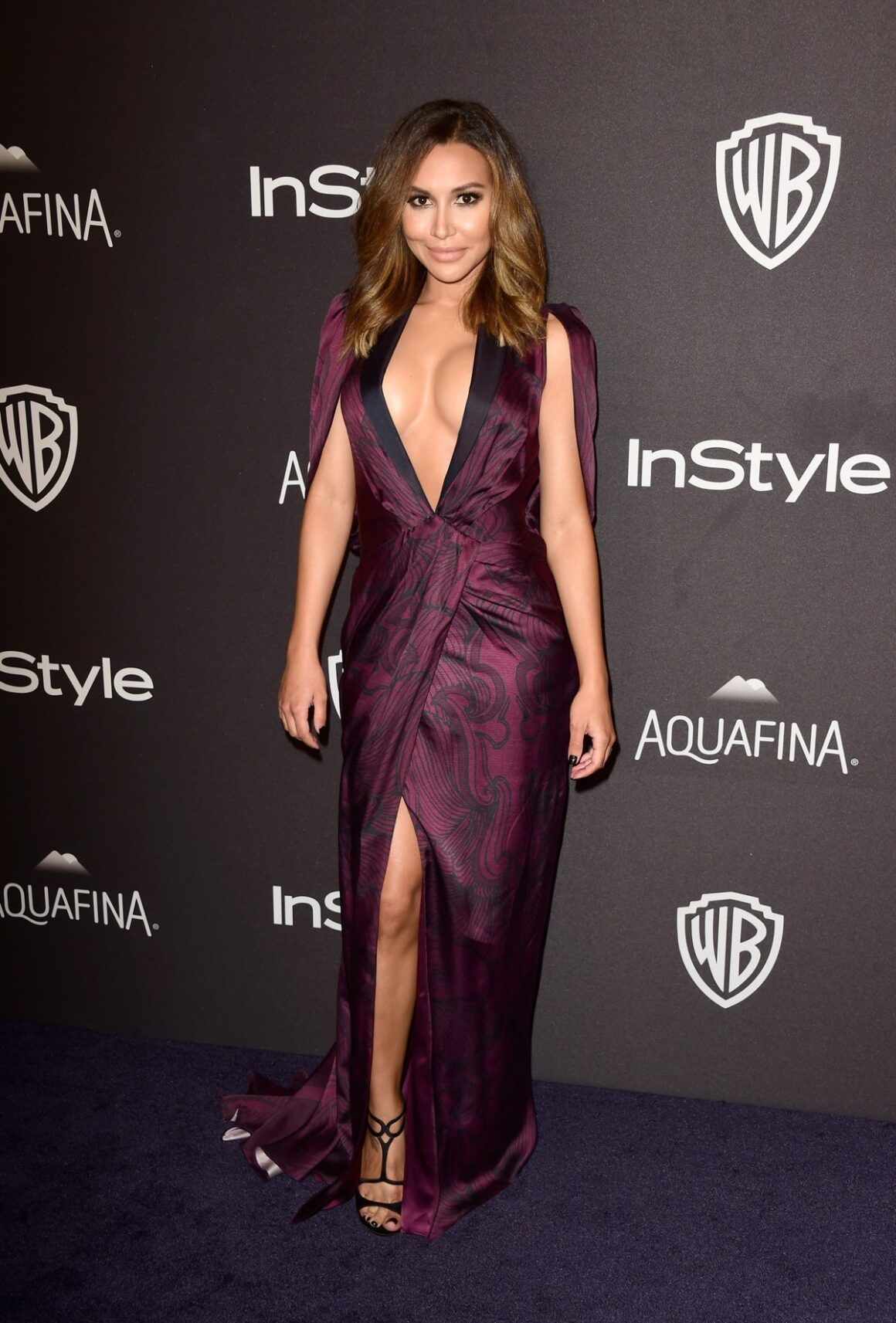 Naya Rivera 2016 InStyle And Warner Bros. 73rd Annual Golden Globe Awards Post-Party - Arrivals
