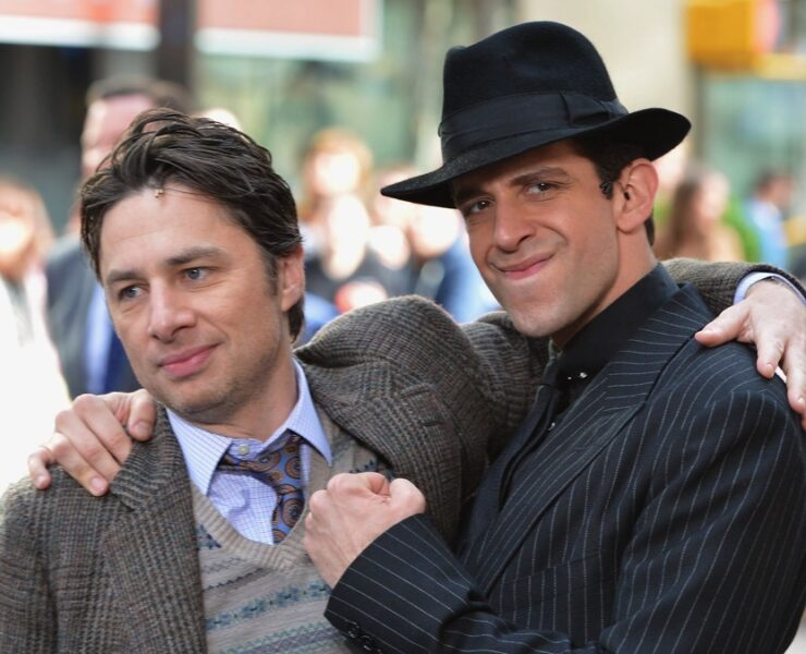 "Zach Braff and Nick Cordero The Cast Of ""Bullets Over Broadway"" Performs Live On NBC's ""Today"""