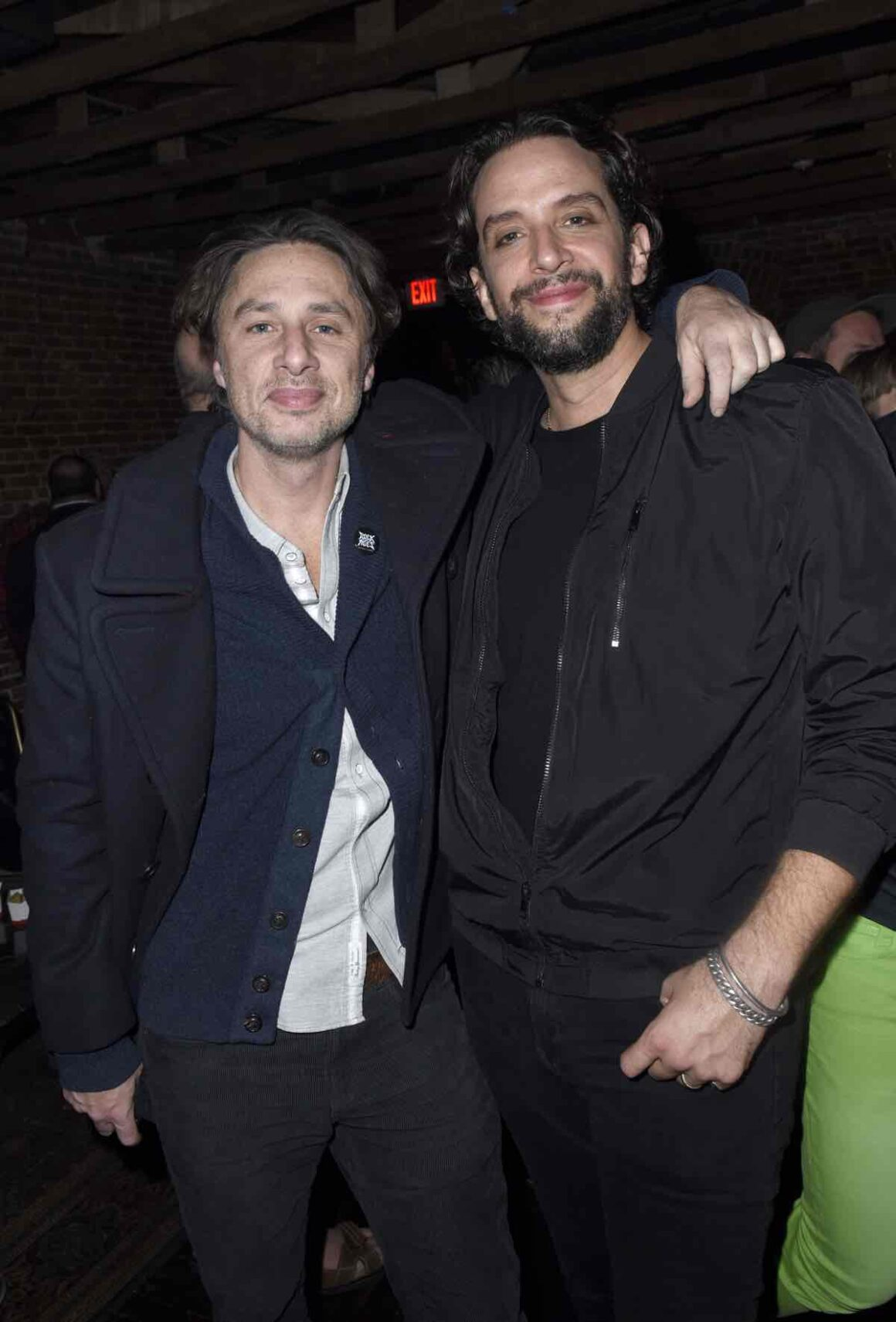 Zach Braff and Nick Cordero Preview Of Rock of Ages Hollywood At The Bourbon Room