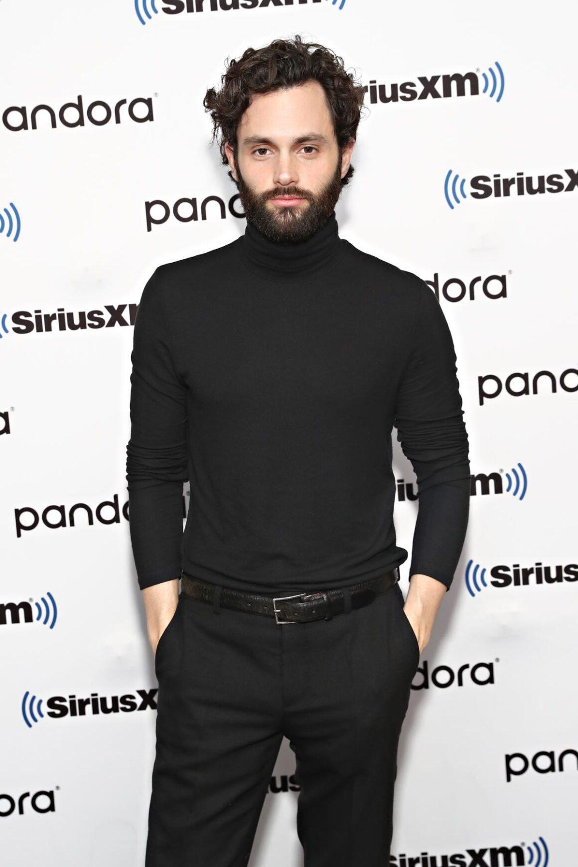 Penn Badgley Celebrities Visit SiriusXM - January 8, 2020