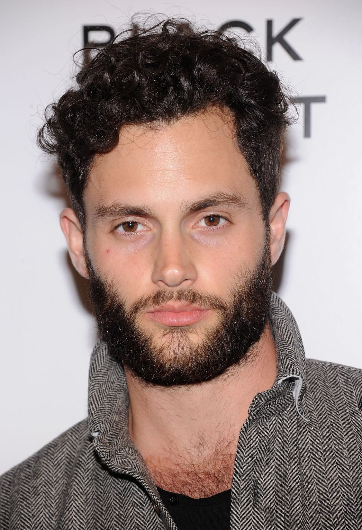 Penn Badgley Chanel's:The Little Black Jacket Event