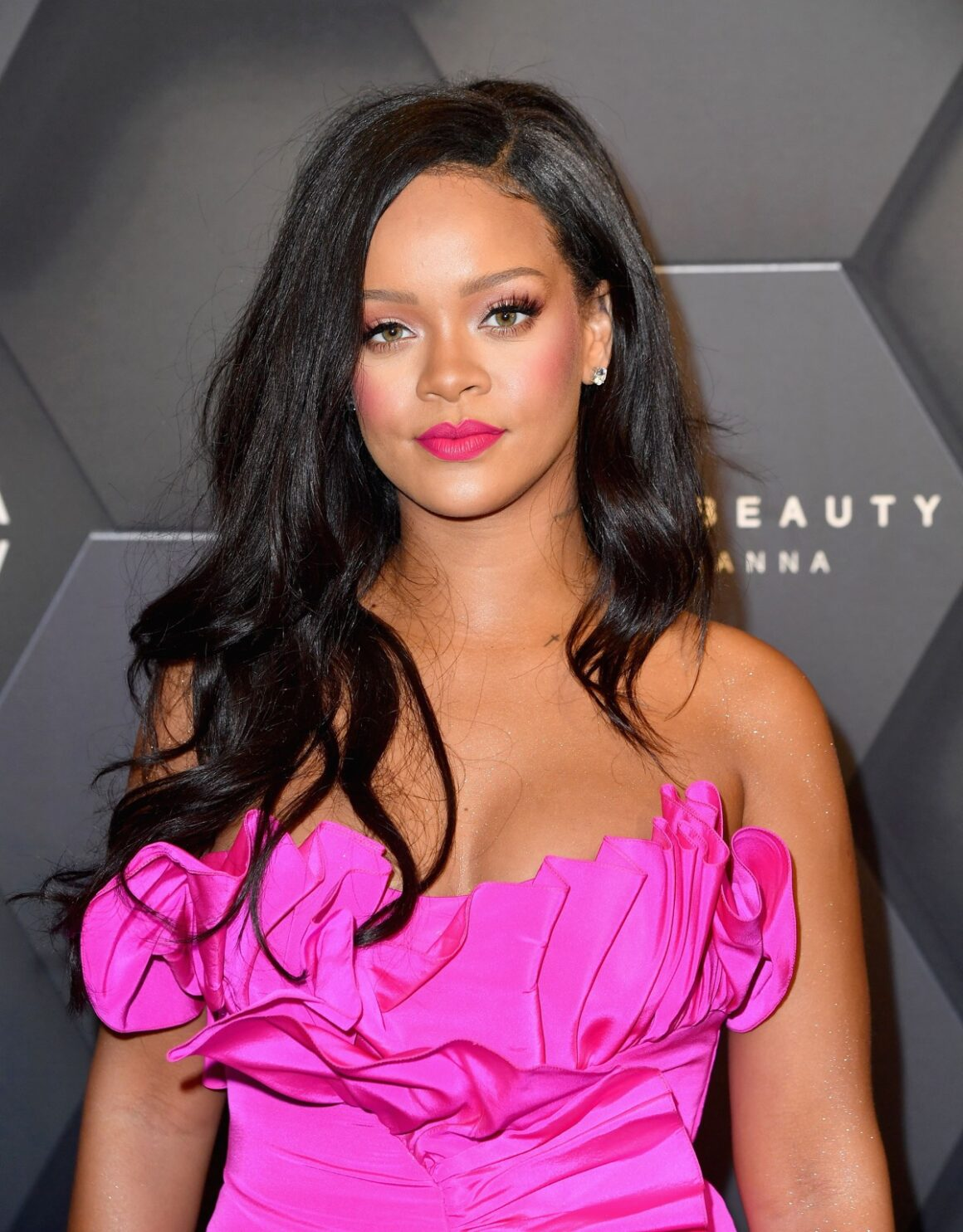 Rihanna attends the Fenty Beauty by Rihanna event