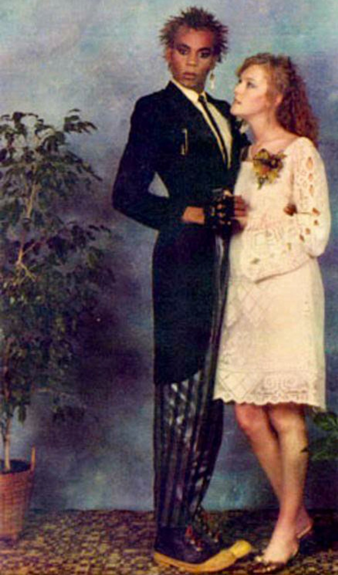 RuPaul prom photo