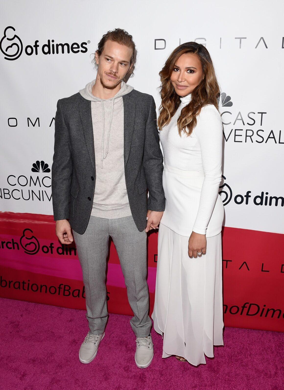 Naya Rivera and Ryan Dorsey 2015 March Of Dimes Celebration Of Babies - Arrivals