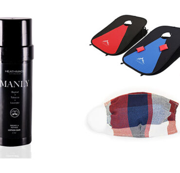 SL Recommends: Heathmade Manly, Himal Corn Hole Boards, Independence Mask from Indie Source