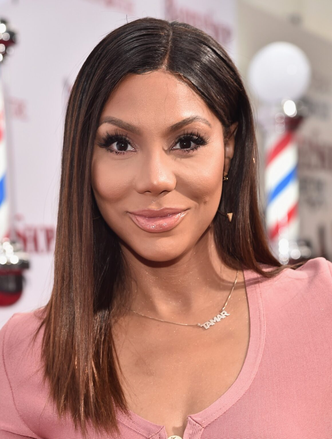 "Tamar Braxton Premiere Of New Line Cinema's ""Barbershop: The Next Cut"" - Red Carpet"