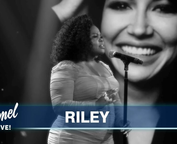 Amber Riley Performs Emotional Tribute to Naya Rivera on Jimmy Kimmel Live
