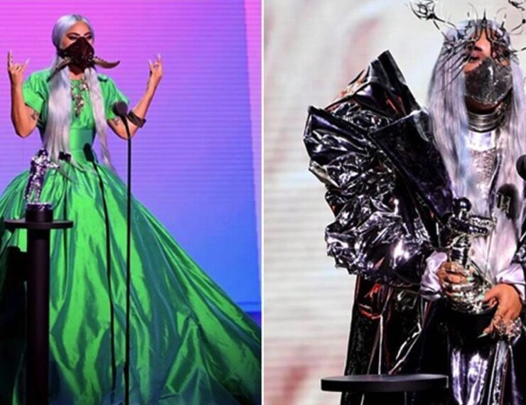 Lady Gaga 2020 MTV VMAs