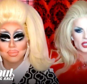 Trixie Mattel and Katya