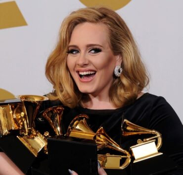 Adele The 54th Annual GRAMMY Awards - Press Room