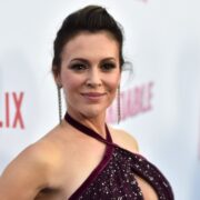 "Alyssa Milano Netflix's ""Insatiable"" Season 1 Premiere - Red Carpet"