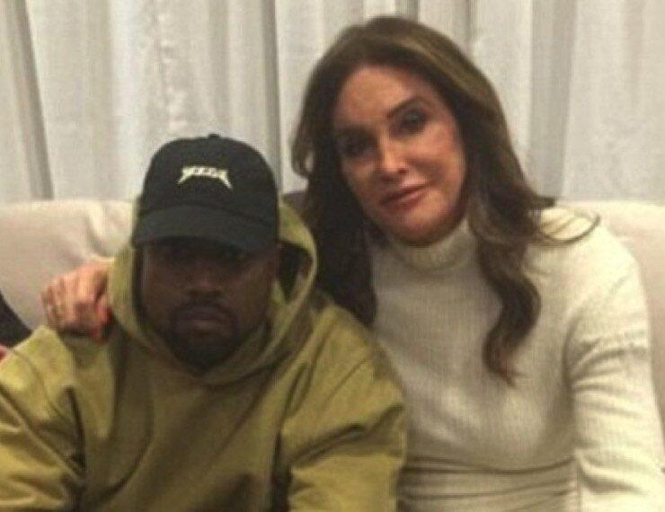Caitlyn Jenner Kanye West