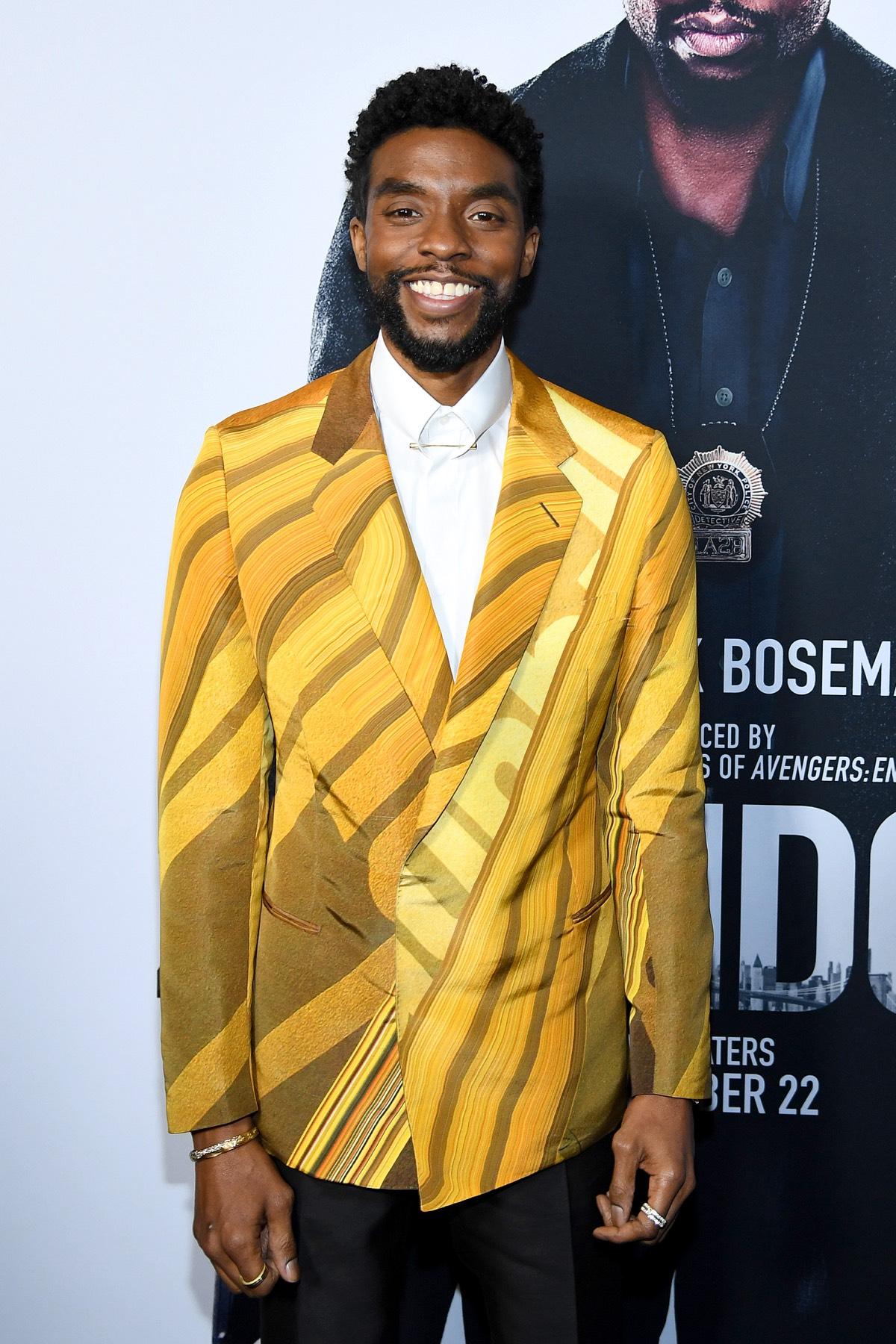 "Chadwick Boseman ""21 Bridges"" New York Screening"