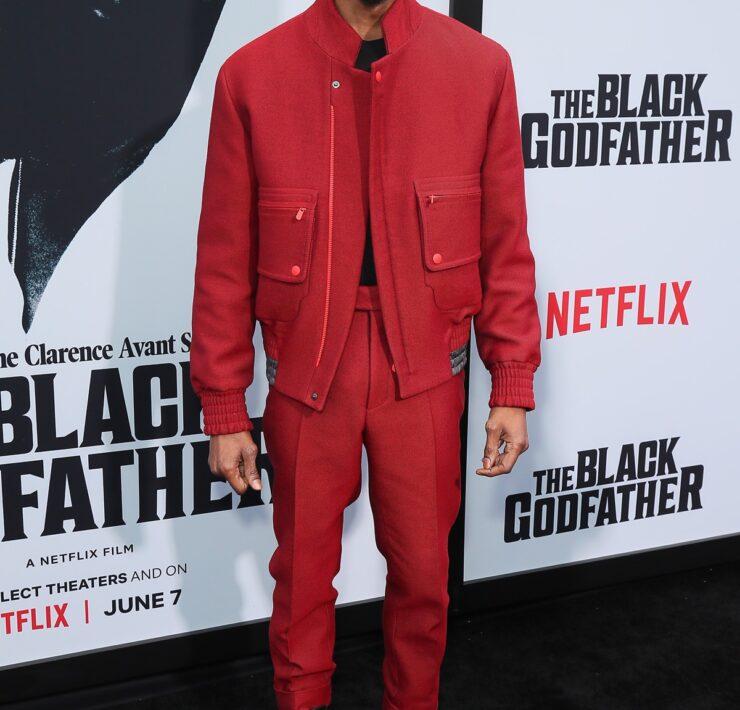"""Chadwick Boseman Premiere Of Netflix's """"The Black Godfather"""""""