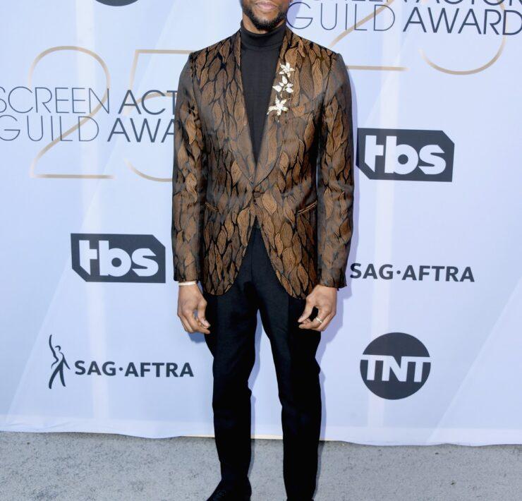 Chadwick Boseman 25th Annual Screen ActorsGuild Awards - Arrivals